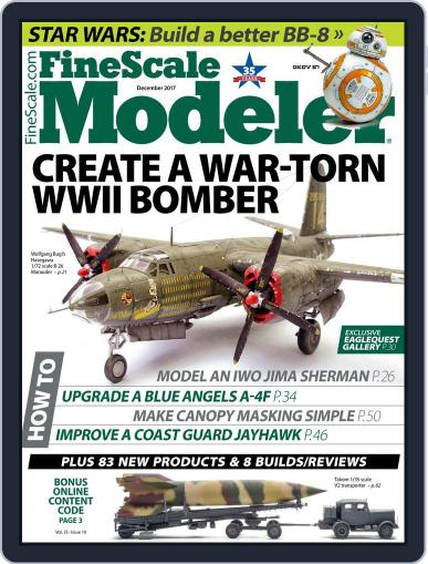 FineScale Modeler December 1st, 2017 Digital Back Issue Cover