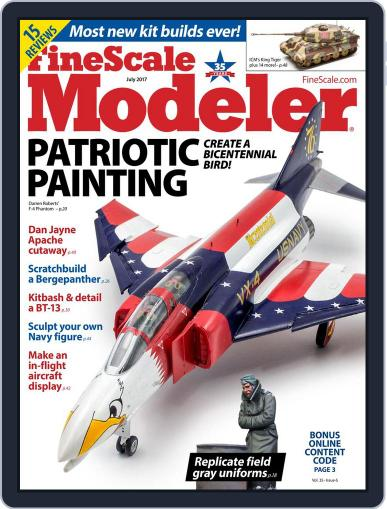 FineScale Modeler May 25th, 2017 Digital Back Issue Cover