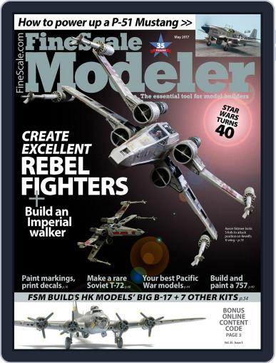 FineScale Modeler May 1st, 2017 Digital Back Issue Cover