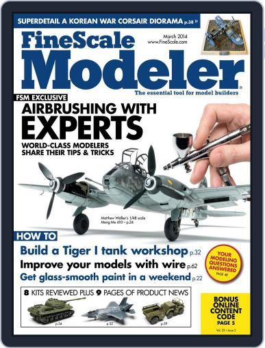 FineScale Modeler (Digital) January 24th, 2014 Issue Cover