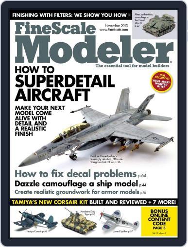 FineScale Modeler September 21st, 2013 Digital Back Issue Cover