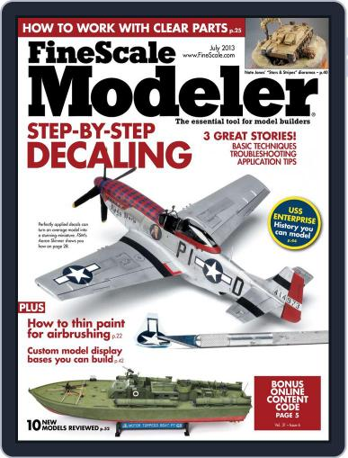 FineScale Modeler May 25th, 2013 Digital Back Issue Cover
