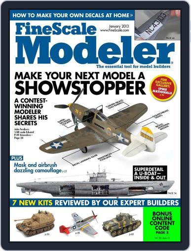 FineScale Modeler November 24th, 2012 Digital Back Issue Cover