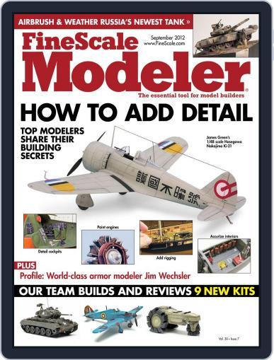 FineScale Modeler July 21st, 2012 Digital Back Issue Cover