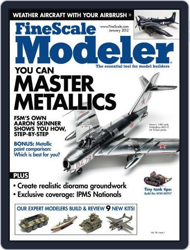 FineScale Modeler (Digital) November 28th, 2011 Issue Cover