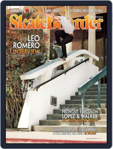 Skateboarder October 1st, 2012 Digital Back Issue Cover