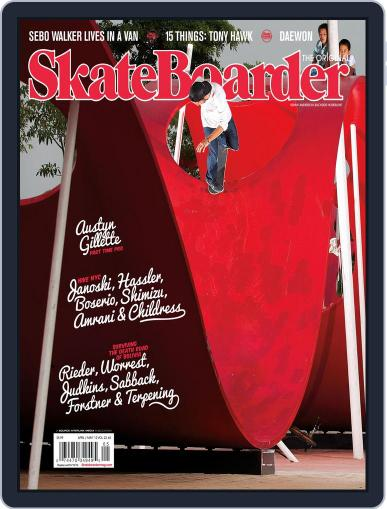 Skateboarder March 13th, 2012 Digital Back Issue Cover