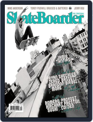 Skateboarder January 13th, 2012 Digital Back Issue Cover