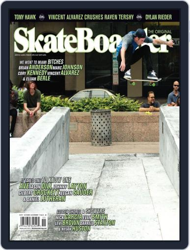 Skateboarder October 1st, 2011 Digital Back Issue Cover