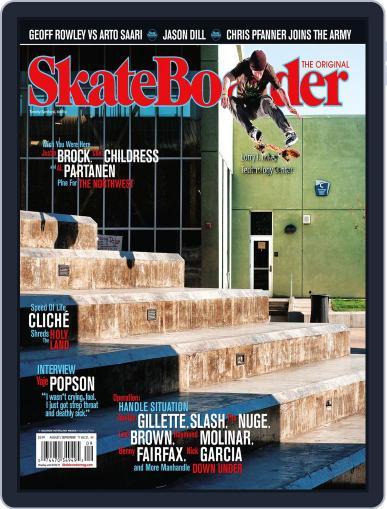 Skateboarder July 19th, 2011 Digital Back Issue Cover