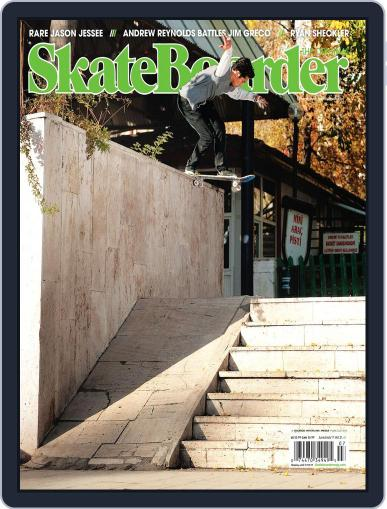 Skateboarder May 17th, 2011 Digital Back Issue Cover