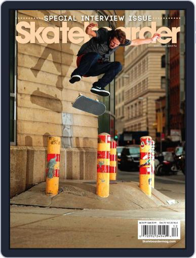 Skateboarder October 19th, 2010 Digital Back Issue Cover