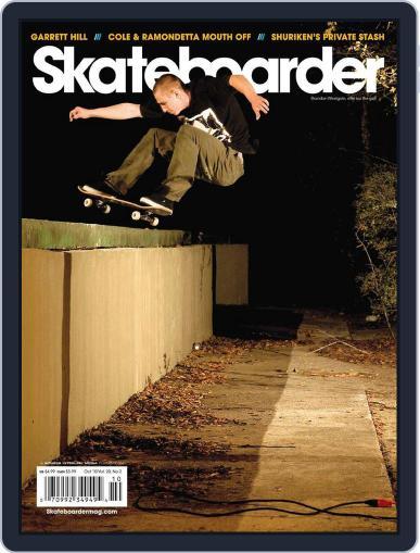 Skateboarder October 1st, 2010 Digital Back Issue Cover