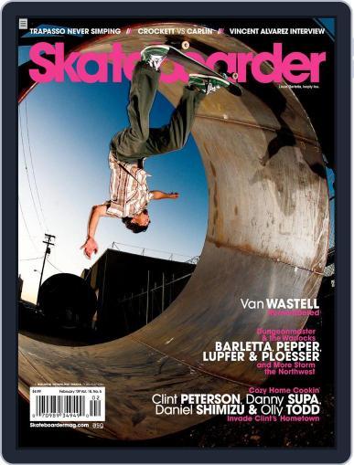 Skateboarder December 15th, 2008 Digital Back Issue Cover