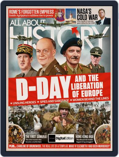 All About History (Digital) June 30th, 2019 Issue Cover