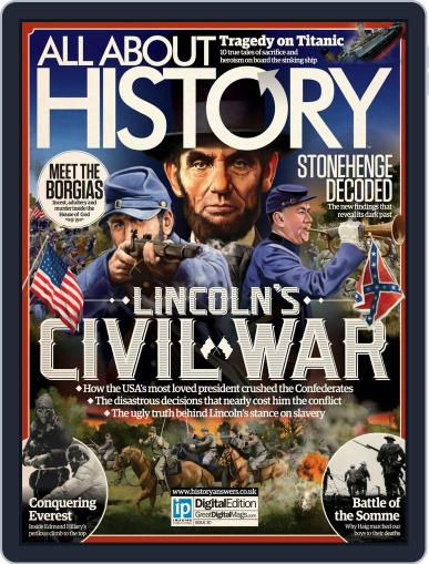 All About History (Digital) October 1st, 2015 Issue Cover