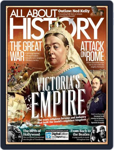 All About History (Digital) July 23rd, 2014 Issue Cover