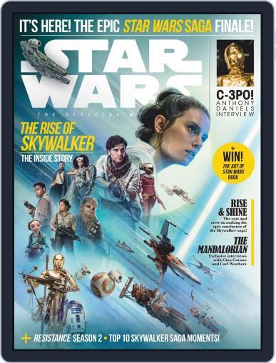 Star Wars Insider January 1st, 2020 Digital Back Issue Cover