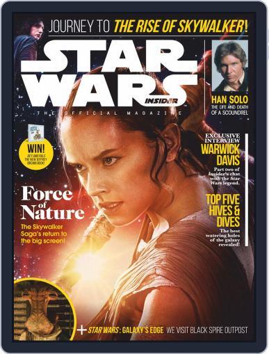 Star Wars Insider October 1st, 2019 Digital Back Issue Cover