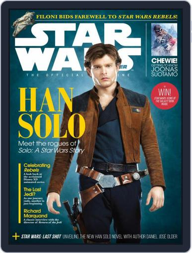 Star Wars Insider May 1st, 2018 Digital Back Issue Cover