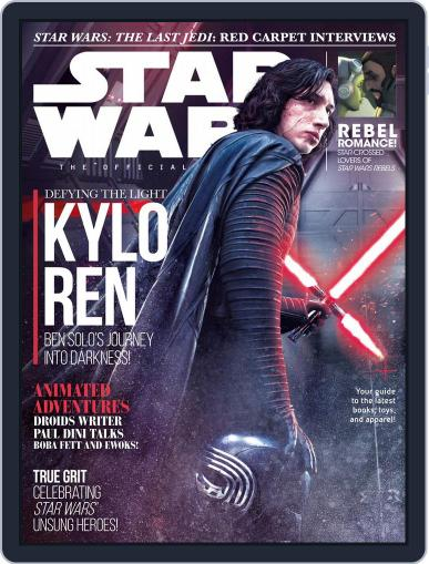 Star Wars Insider March 1st, 2018 Digital Back Issue Cover
