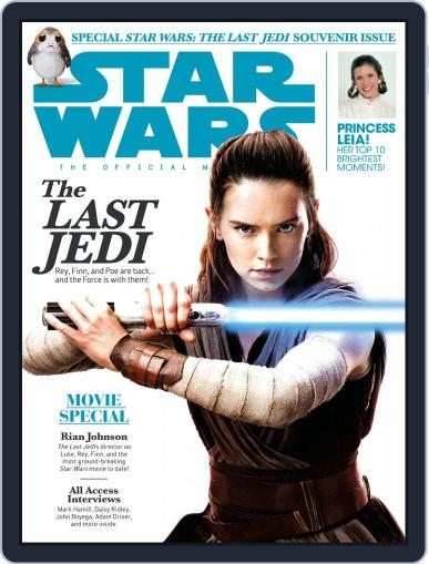 Star Wars Insider January 1st, 2018 Digital Back Issue Cover