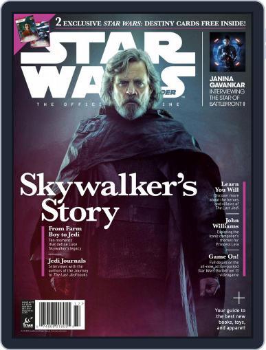 Star Wars Insider December 1st, 2017 Digital Back Issue Cover