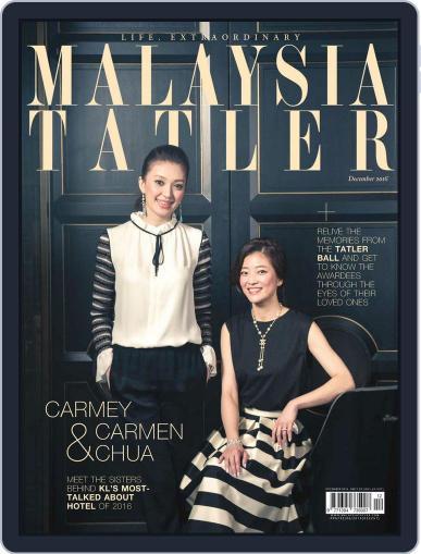 Tatler Malaysia (Digital) December 1st, 2016 Issue Cover