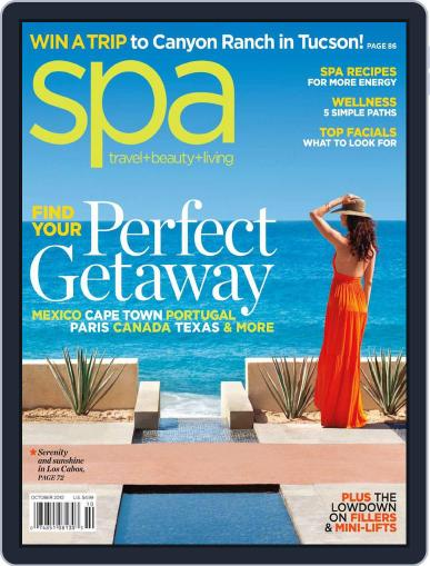 Spa August 31st, 2010 Digital Back Issue Cover