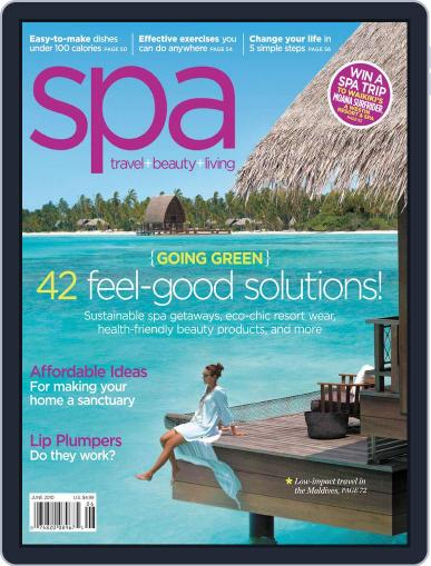 Spa May 4th, 2010 Digital Back Issue Cover