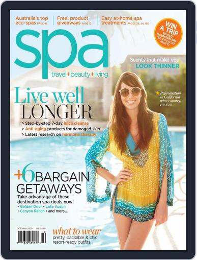 Spa August 29th, 2009 Digital Back Issue Cover