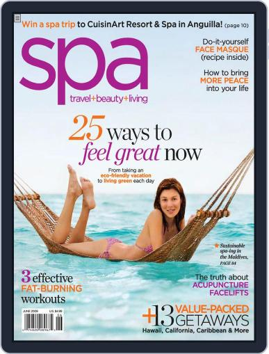 Spa June 1st, 2009 Digital Back Issue Cover