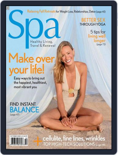 Spa August 18th, 2008 Digital Back Issue Cover