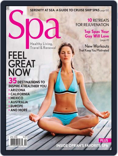 Spa February 6th, 2008 Digital Back Issue Cover