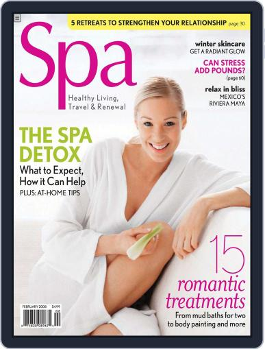 Spa December 16th, 2007 Digital Back Issue Cover