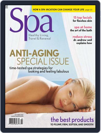Spa August 8th, 2007 Digital Back Issue Cover