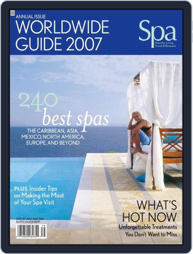 Spa January 11th, 2007 Digital Back Issue Cover