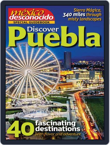 Guidebook Mexico Desconocido May 1st, 2014 Digital Back Issue Cover