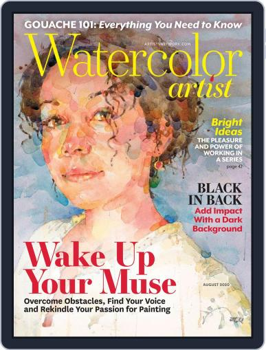 Watercolor Artist (Digital) August 1st, 2020 Issue Cover
