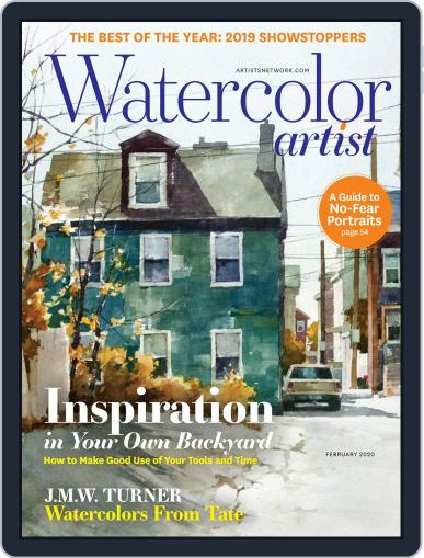 Watercolor Artist (Digital) February 1st, 2020 Issue Cover