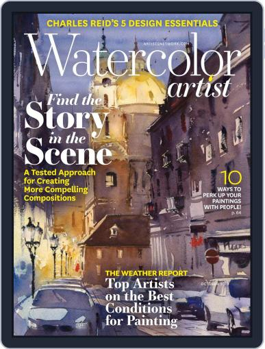 Watercolor Artist (Digital) October 1st, 2019 Issue Cover