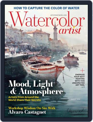 Watercolor Artist (Digital) August 1st, 2019 Issue Cover
