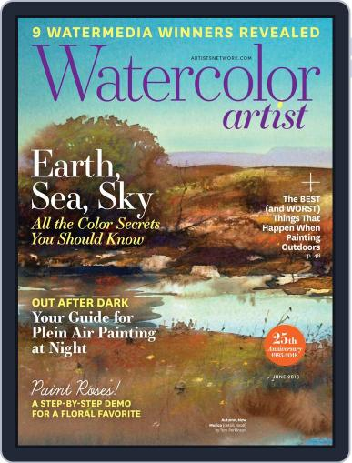 Watercolor Artist (Digital) April 4th, 2018 Issue Cover