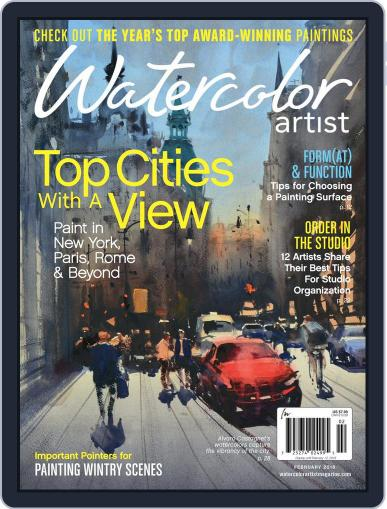 Watercolor Artist (Digital) December 6th, 2017 Issue Cover