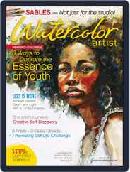 Watercolor Artist (Digital) Subscription August 1st, 2017 Issue
