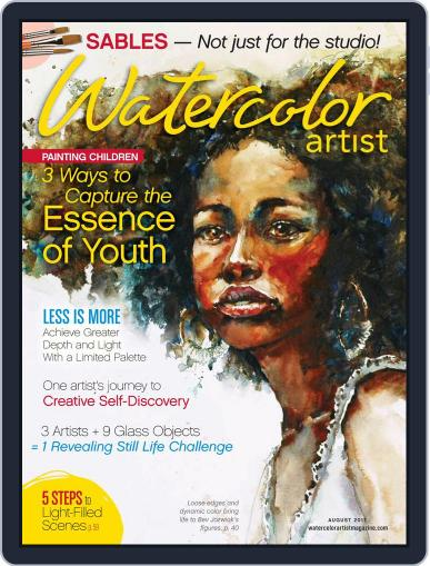Watercolor Artist (Digital) August 1st, 2017 Issue Cover