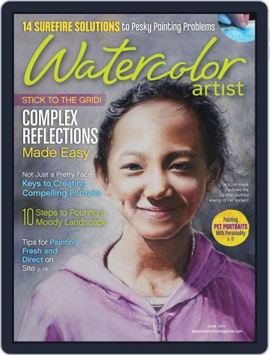 Watercolor Artist (Digital) June 1st, 2017 Issue Cover
