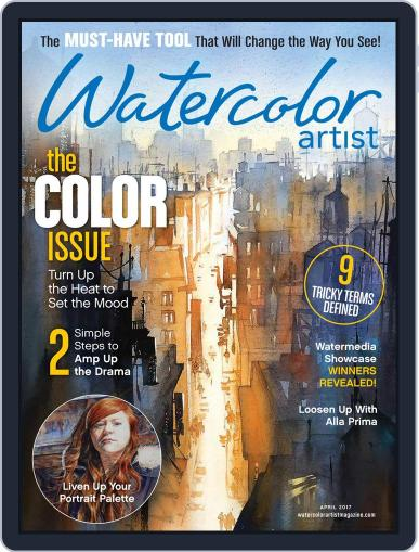 Watercolor Artist (Digital) April 1st, 2017 Issue Cover