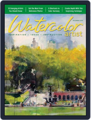 Watercolor Artist (Digital) December 1st, 2016 Issue Cover
