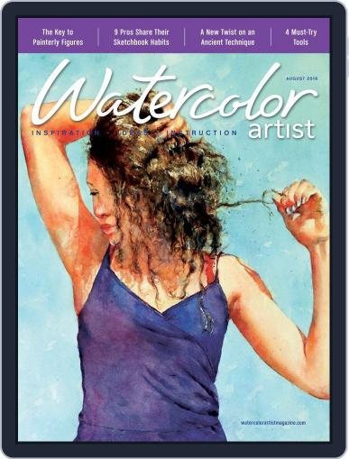 Watercolor Artist (Digital) June 14th, 2016 Issue Cover